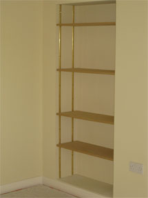 Bookcase Recess by DGR Joinery